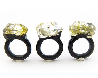 Moss Resin Ring | Size 6.5