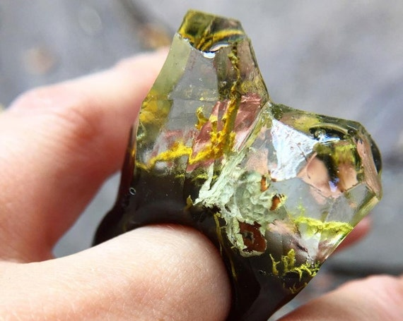 Terrarium Resin Ring | Size 5
