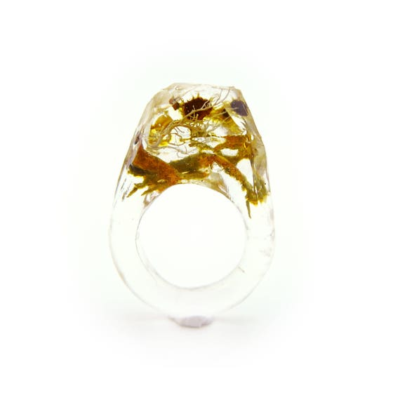 Terrarium Resin Ring