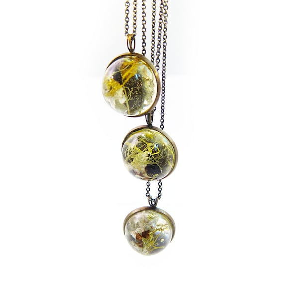 Dome Terrarium Necklace
