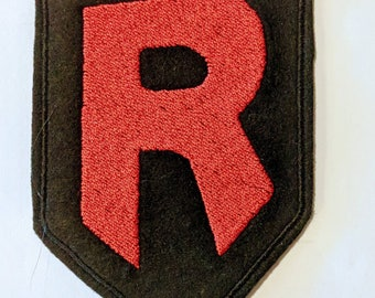 Team Rocket embroidered patch