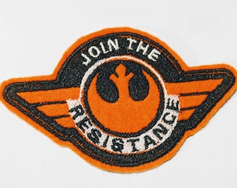 Starwars Join The Resistance embroidered patch