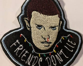 Stranger Things 'Eleven'  embroidered patch