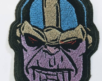 Thanos embroidered patch approx 9cm high