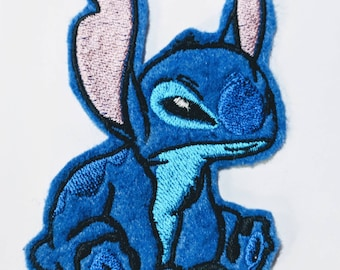 Stitch embroidered patch
