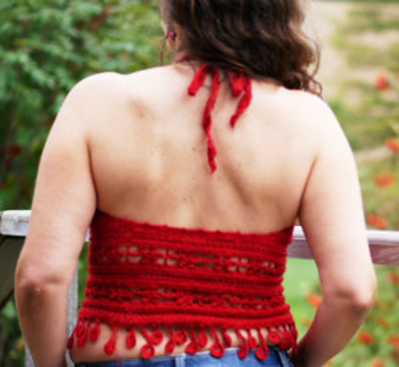 ANY size /& any gauge ! summer camisole tank top CROCHET PATTERN