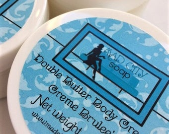 Beach Bum Bum Double Butter Body Cream 4 oz. Vegan Body Cream. Sandalwood, Pistachio, Jasmine, Vanilla, and Amber body lotion cream.