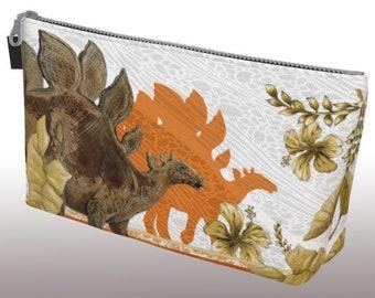 Jurassic Stegosaurus Make Up Bag - Autumn