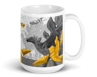 Stegosaurus Mug | Dinosaur Gift | Jurassic Park Mug