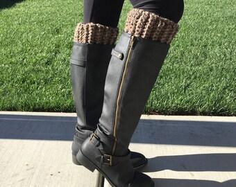 Thick Boot Cuffs (Tan)