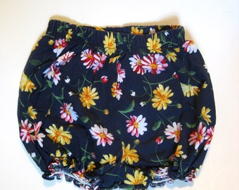 Vintage Girls Floral Bloomers - Vintage Bloomers - Toddler Girl Bloomers - Vintage Girls Clothing - Retro Bloomers for Girls - Diaper Cover