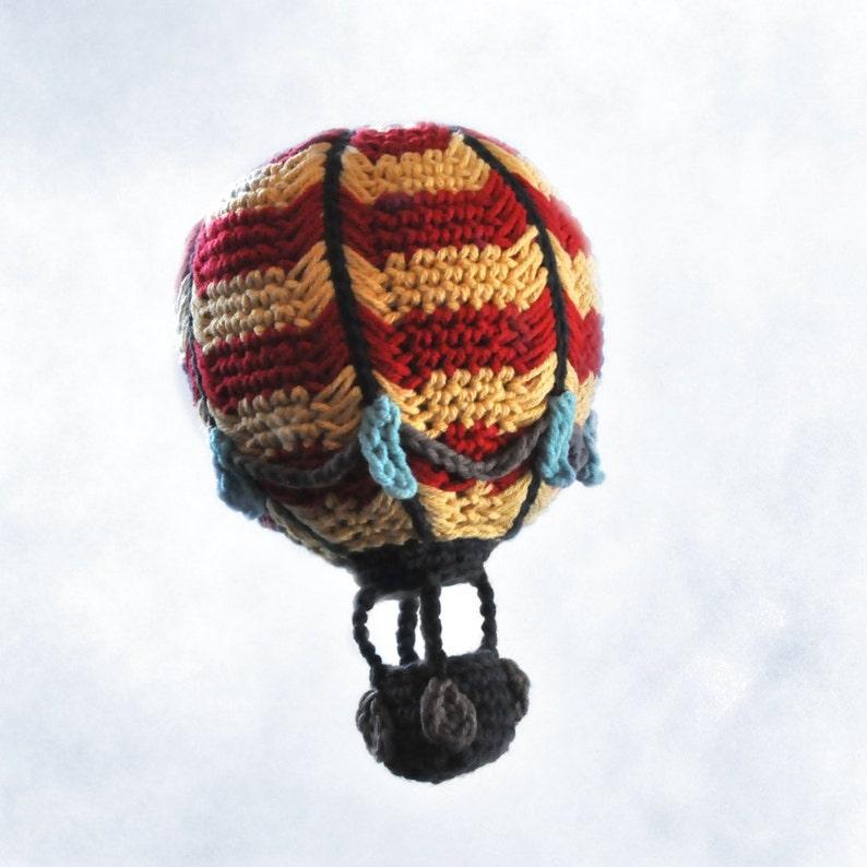 Crocheted Hot Air Balloon Pattern PDF image 0