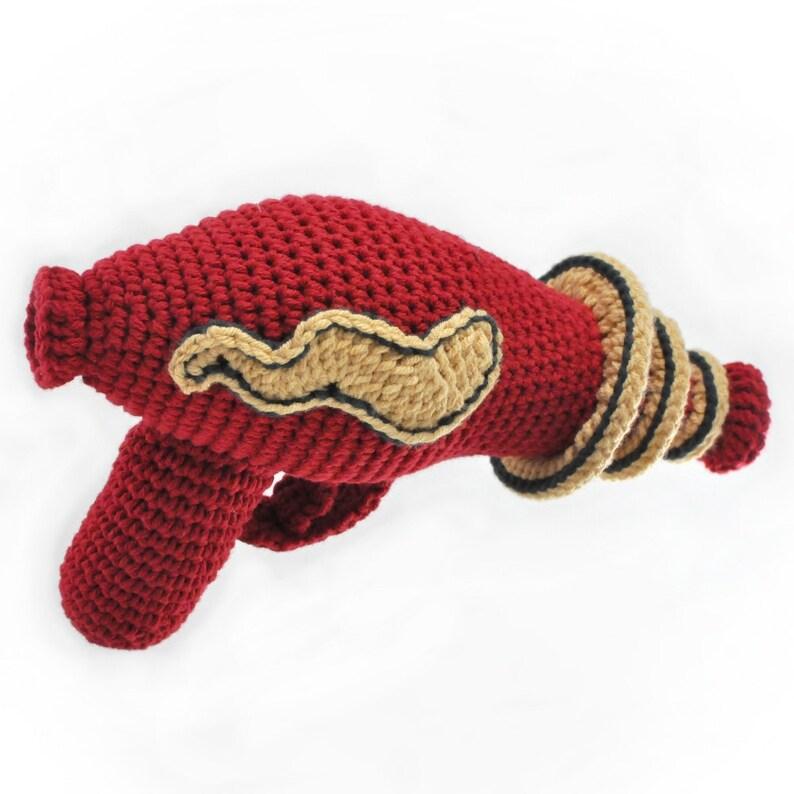 Crocheted Raygun Pattern PDF image 0