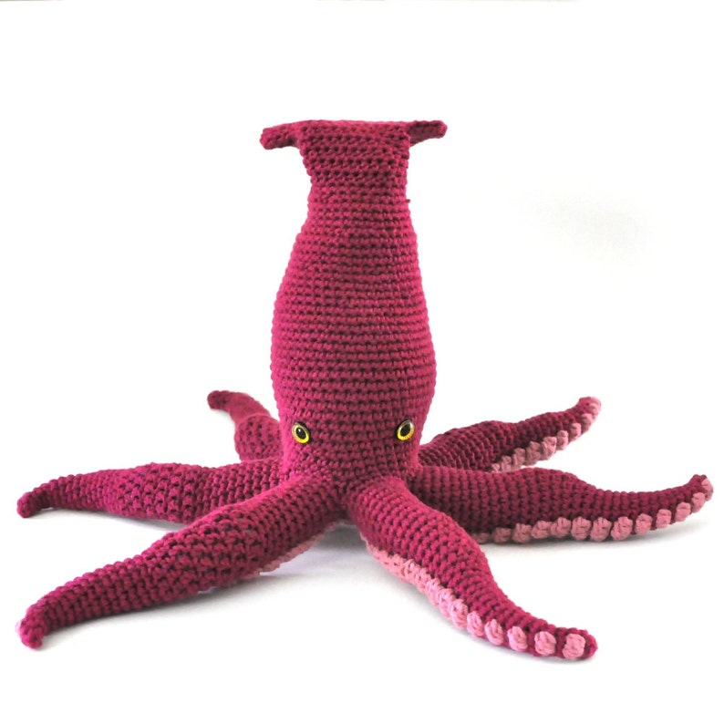 Crocheted Sea Monster Pattern PDF image 0