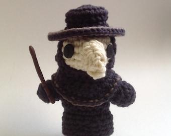Crocheted Plague Doctor Pattern PDF