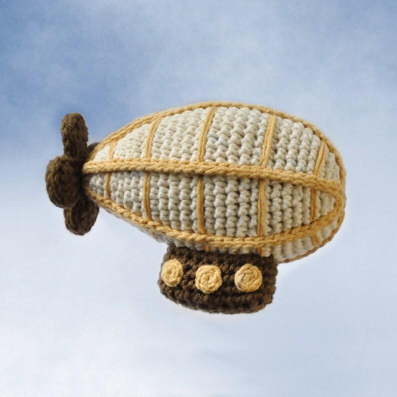 Crocheted Airship Pattern PDF image 0