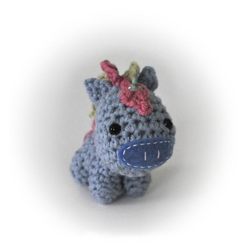 Crocheted Unicorn Pattern PDF image 0