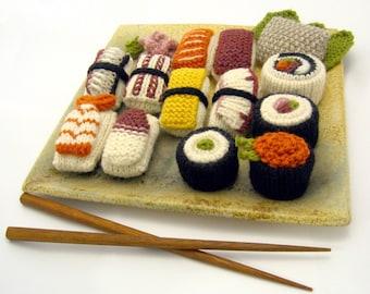 Knit Sushi Pattern PDF