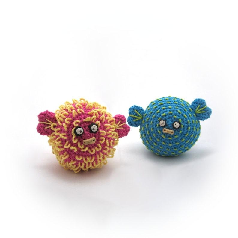 Crocheted Pufferfish Pattern PDF image 0