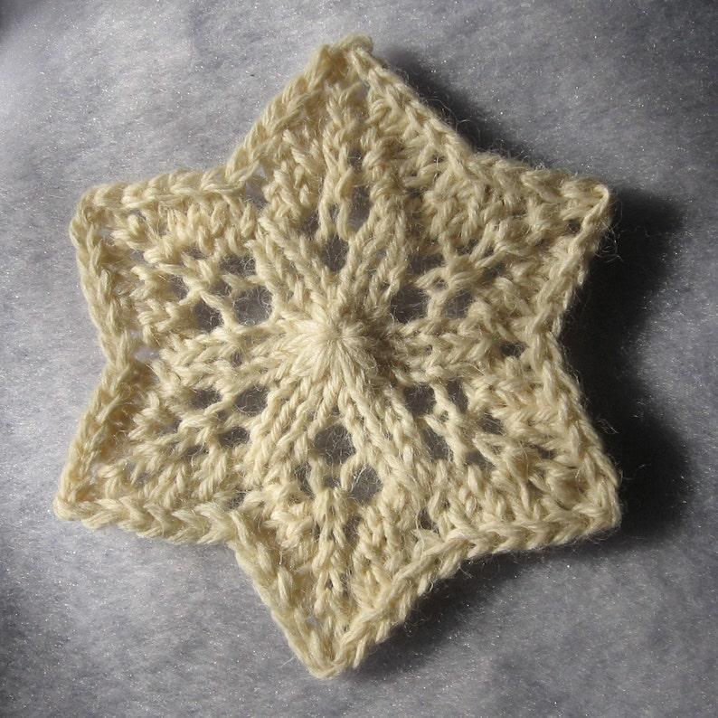 Knit Snowflakes Pattern PDF | Etsy