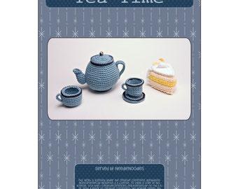 Amigurumi Tea Set Crochet Pattern PDF