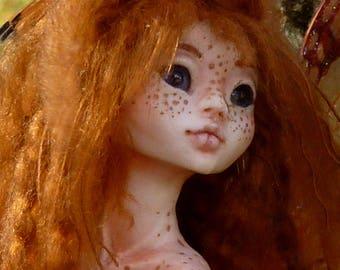 Endora - Wild Forest Myxie sculpture