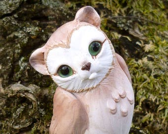 Meowl barn - Fantasy Myxie Pal Sculpture