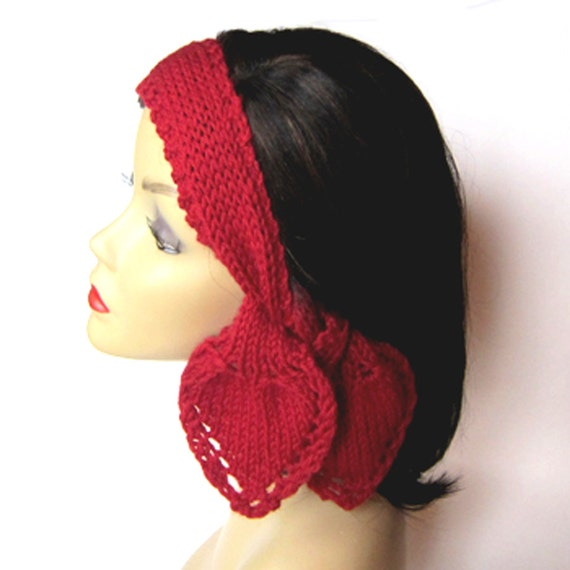 Knit Pattern Heart Scarf And Headband Pdf Instant Download Etsy