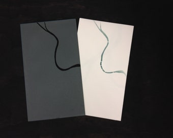 RIVER - artist's book, letterpress printed and hand bound