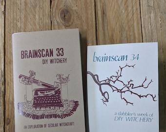 Brainscan #33 & #34 TWO ZINE SET