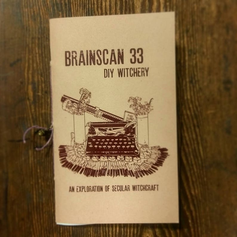 Brainscan Zine 33 DIY Witchery An Exploration of Secular image 0