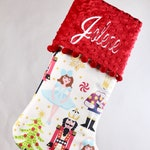 Nutcracker Christmas Stocking, Girls Christmas Stocking, Christmas Stocking Personalized, Christmas Stocking, Baby Christmas Stocking
