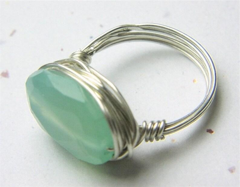 Citrine Ring Designer Silver ring Gem Bliss wire wrap cocktail sparkler ring Camp Sundance