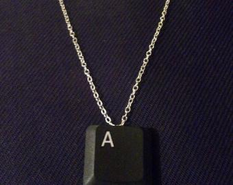 Recycled Laptop Key Necklace