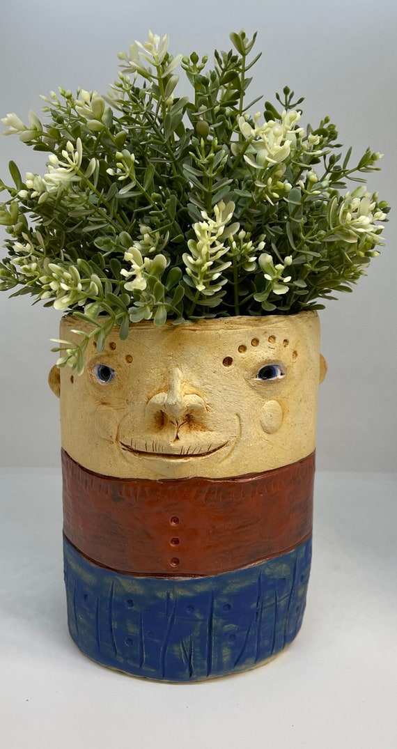 Face Planter - blue / red  stripes- Free US Shipping