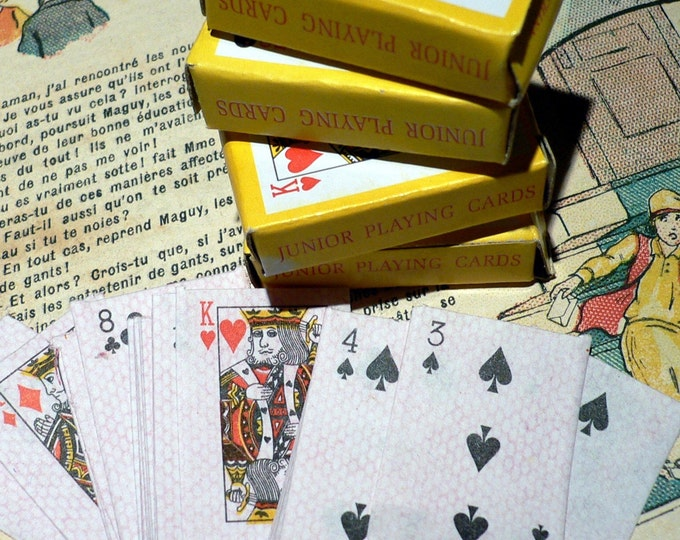 5pcs LITTLE CARD DECKS Miniature Game Cards