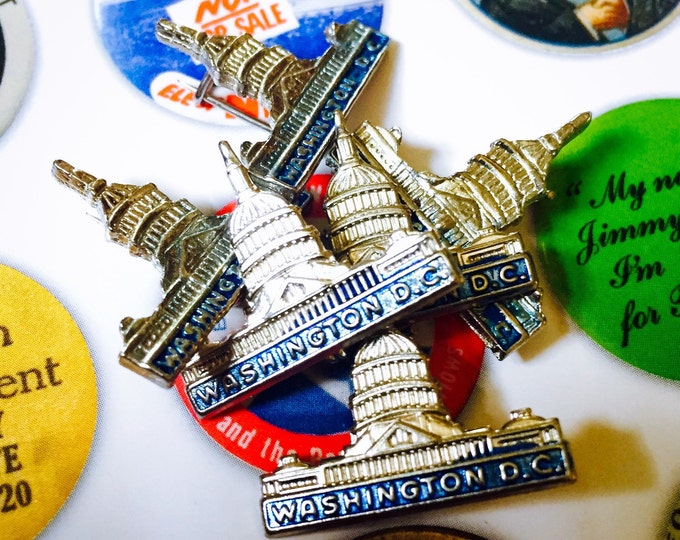 1pc WASHINGTON D.C. Souvenir Pin Capitol Building