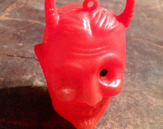 1pc VINTAGE WINKING DEVIL Plastic Blow Mold
