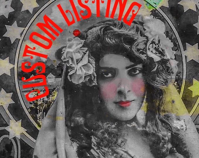 CUSTOM LISTING For Celest
