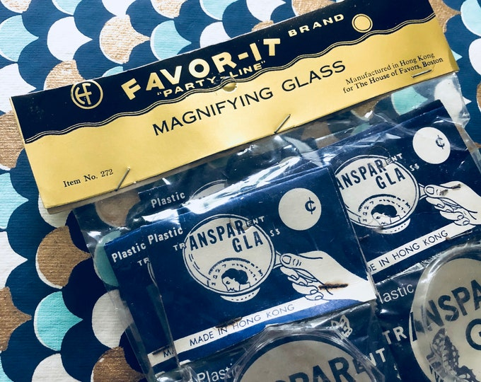 10pcs VINTAGE MAGNIFYING GLASSES Favor-It Brand Party Favors