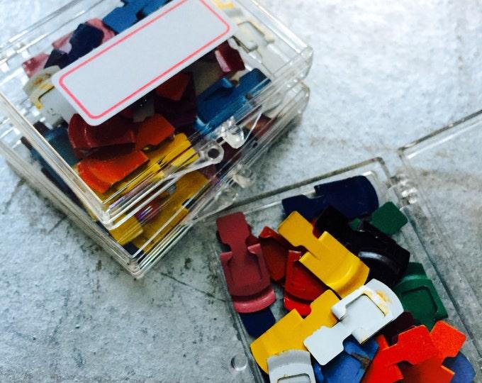 50pcs VINTAGE PAPER CLIPS Retro Office Supplies Old Paper Clips Fasteners Bulk Lot