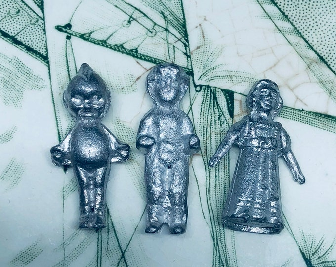 1pc TINY METAL DOLL Kewpie Charlotte Victorian Miniature Your Pick