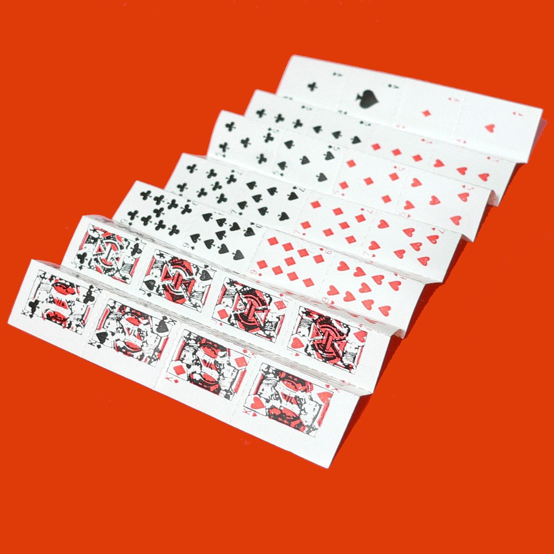 52pcs TEENY TINY CARDS Vintage Paper Ephemera