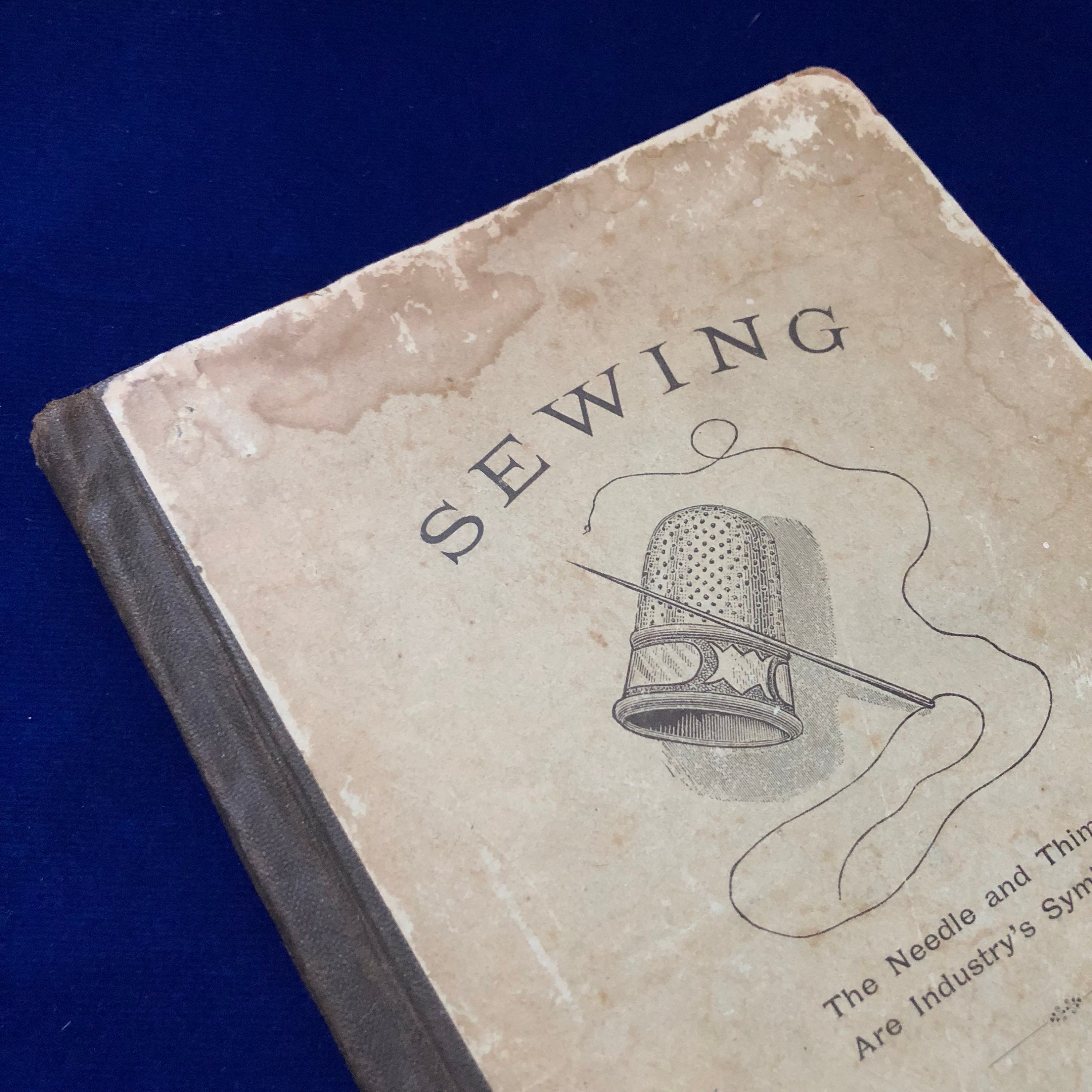 VICTORIAN SEWING PRIMER 1881 Antique Vintage How To
