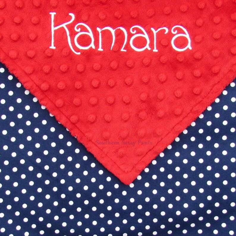 Baby Blanket Personalized Baby Blanket Gender Neutral image 0