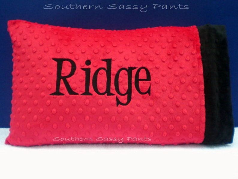 Birthday Gift for 2 Year Old Personalized Toddler Pillow image 0