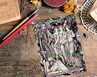 Coloring Pages Of Gothic Princesses : Gothic coloring book etsy