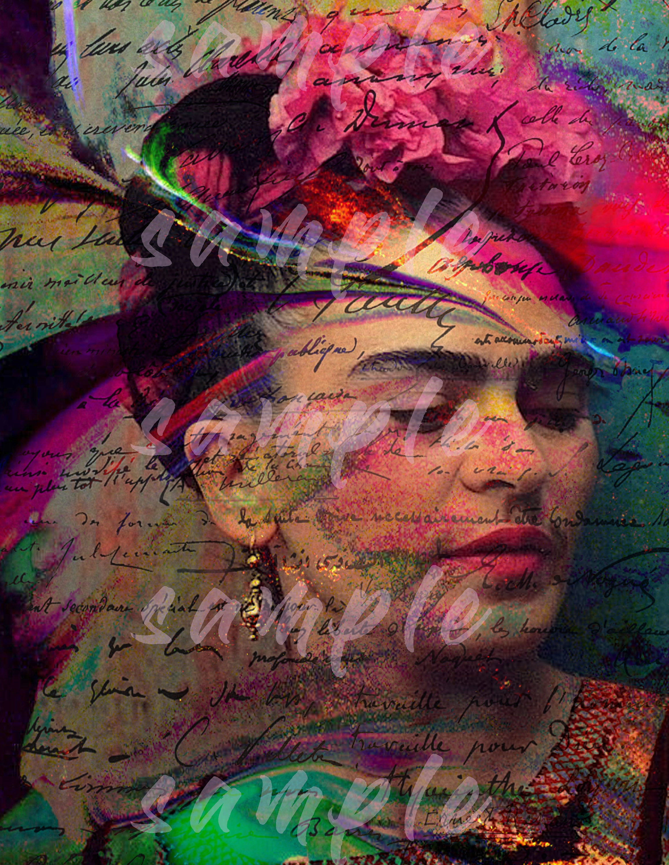 Frida Kahlo Instant Digital Download Printable Wall Art Home Etsy