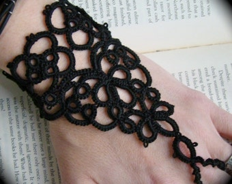 Tatted Slave Bracelet - Enslaved Heart