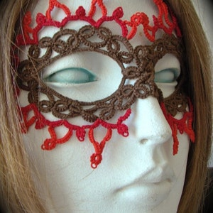 Tatted Lace Mask What Babe